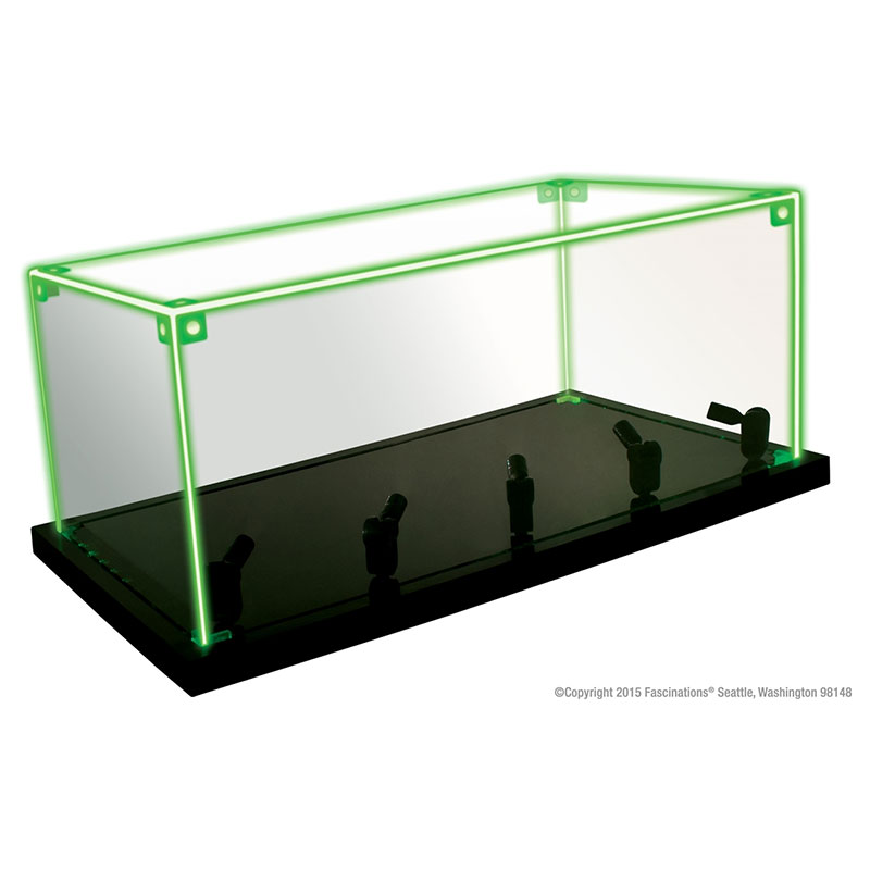 Acrylic Box With Led : Lighted acrylic display box with color led the volts